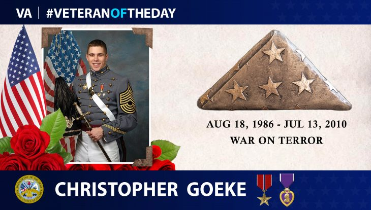 #VeteranOfTheDay Christopher Goeke