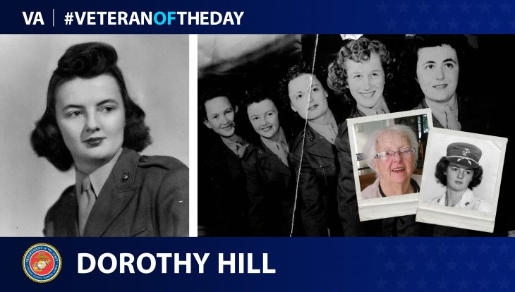 #VeteranoftheDay Dorothy Hill
