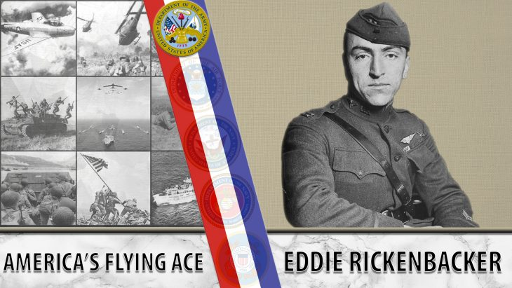 Veteran Story graphic for Eddie Rickenbacker