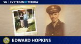 #VeteranoftheDay Edward Hopkins