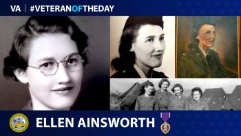 #VeteranoftheDay Ellen Ainsworth
