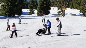 Veterans skiing in Colorado