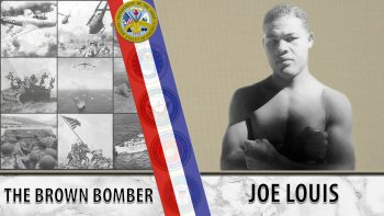 Veteran Story graphic for Joe Louis