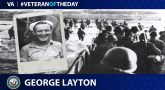 Veteran of the Day graphic for George Layton.