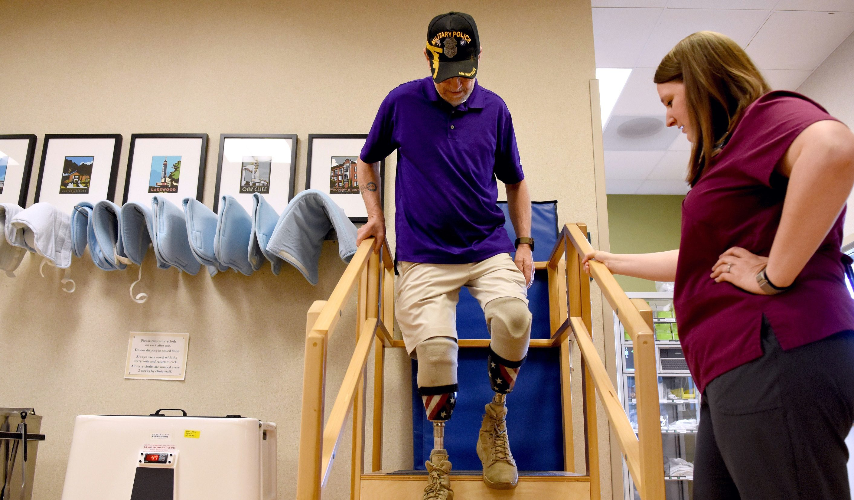 VA North Texas brings mobility, freedom to amputee Veterans