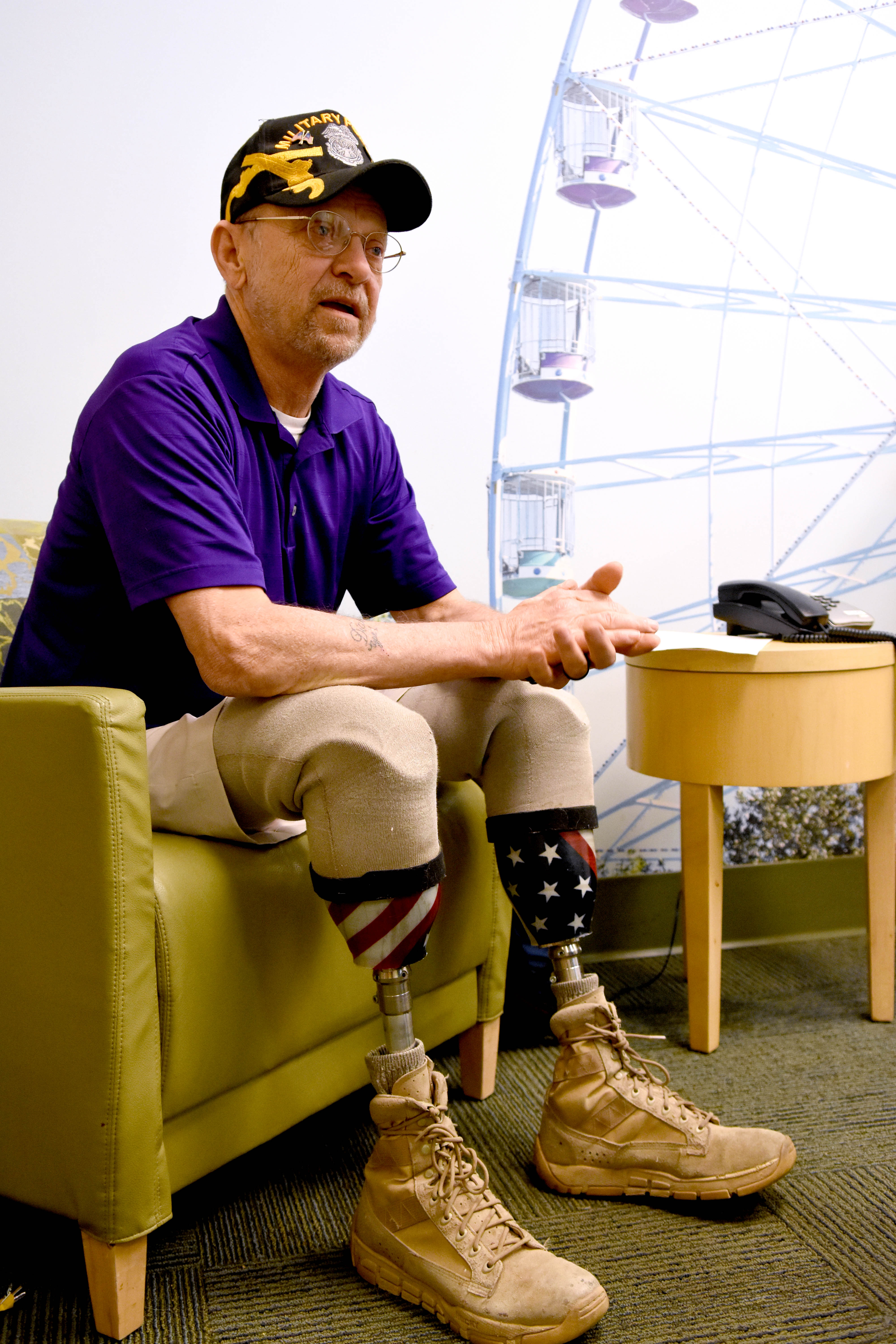 va north texas brings mobility  freedom to amputee