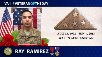 #VeteranoftheDay Ray Ramirez