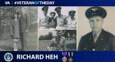 #VeteranoftheDay Richard Heh