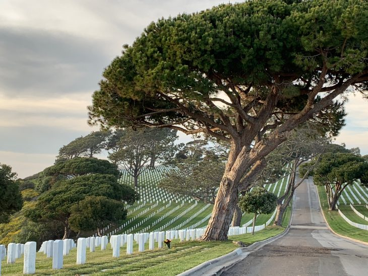 IMAGE of Rosecrans National Cemetery in San Diego