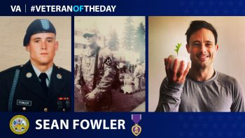 #VeteranoftheDay Sean Fowler