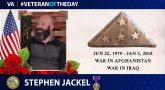 Veteran of the Day graphic for Stephen Jackel