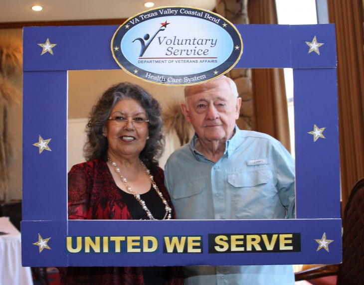 Volunteer couple at VA Texas Valley Coastal Bend