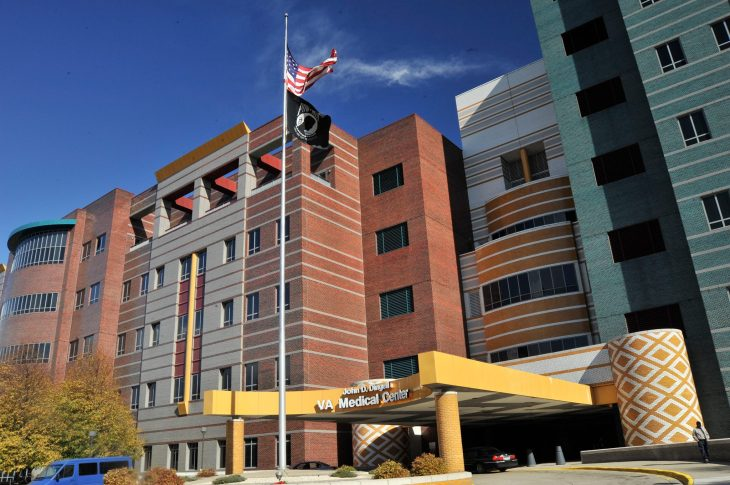 The John D. Dingell VA Medical Center in Detroit.
