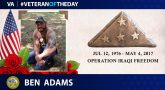 #VeteranOfTheDay Ben Adams