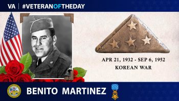#VeteranOfTheDay Benito Martinez