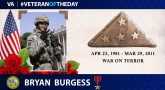 #VeteranOfTheDay Bryan Burgess