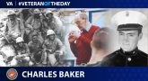 Veteran of the Day graphic for Charles Baker.