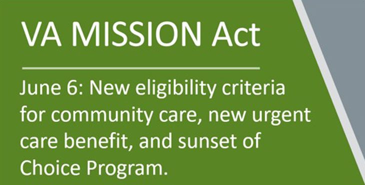 VA MISSION Act: What to expect for community care on June 6