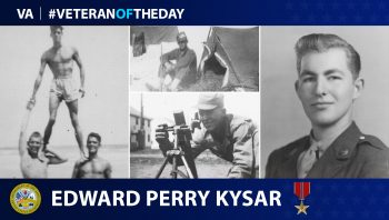 Veteran of the Day graphic for Edward Perry Kysar