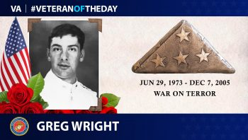 #VeteranOfTheDay Greg Wright