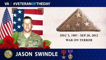 #VeteranOfTheDay Jason Swindle
