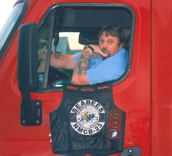 Rodney in his 'Big Rig' (2008)