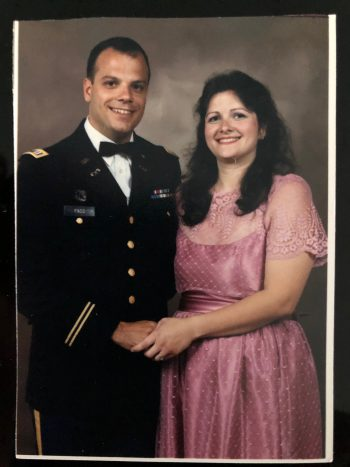 Army Veteran Scott Fass and his wife Patricia