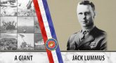 Jack Lummus was a hero on the battlefield and on the gridiron.