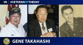 Gene Takahashi served in WWII and Korea.