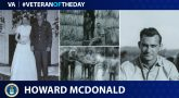 Veteran of the Day graphic for Howard McDonald