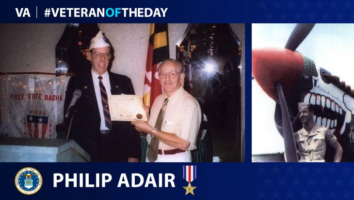Phillip Adair is today's Veteran of the Day.
