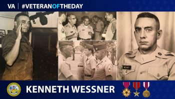 Kenneth Wessner is today's #VeteranOfTheDay