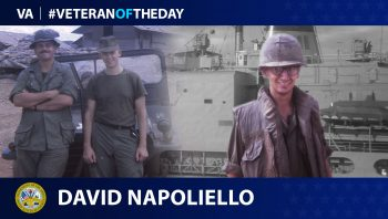 Army Veteran David Napoliello is today's Veteran of the Day.