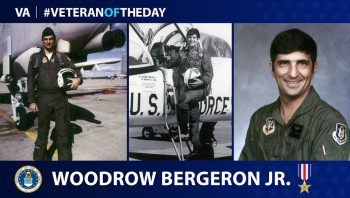 Woodrow Bergeron is today's Veteran of the Day.