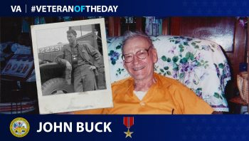 Army Veteran John P. Buck is today's Veteran of the Day.