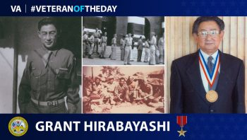 Grant Hirabayashi is an Army WWII Veteran.