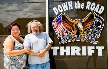 Thrift store owners helping homeless Veterans