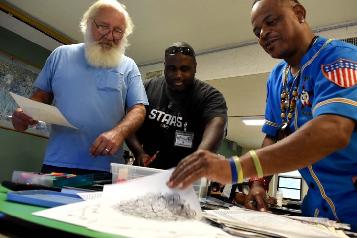 VA Photos of the Week - Veterans create art