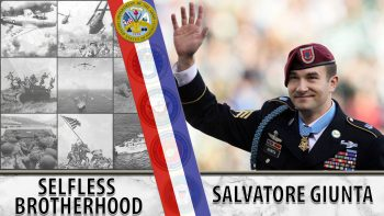 Army Veteran Salvatore Giunta was the first living recipient of the Medal of Honor since the Vietnam War.