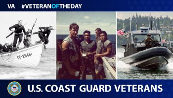 Coast Guard Veterans are today's Veteran of the Day.