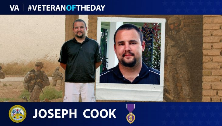 Joseph Cook is today's Veteran of the Day.