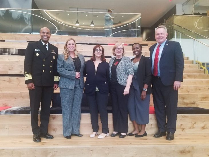 VA partners with White House, Surgeon General to promote safe messaging to entertainment industry.