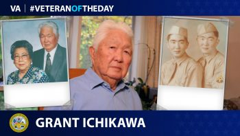 Today's Veteran of the Day is Grant Ichikawa.