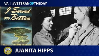 Juanita Hipps is today's #VeteranOfTheDay.