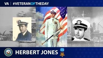 Medal of Honor recipient Herbert C. Jones is today's #VeteranOfTheDay.