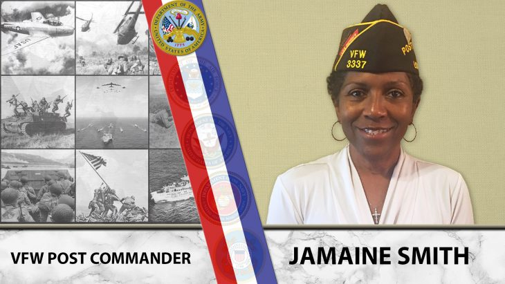 "Jamaine Smith is this week's ""A Veteran's story"" post."