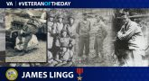 James Thomas Lingg is today's Veteran of the Day.