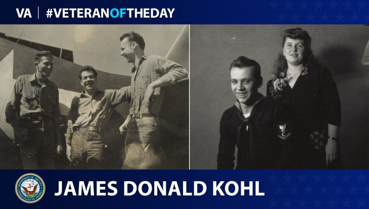 Today's Veteran of the Day is James Donald Kohl.