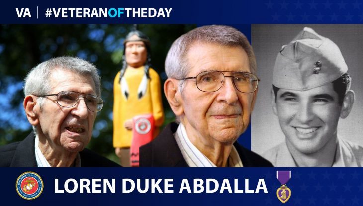 Loren Abdalla is today's Veteran of the Day.