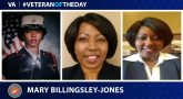 #VeteranOfTheDay is Marine Corps Veteran Mary Billingsley Jones